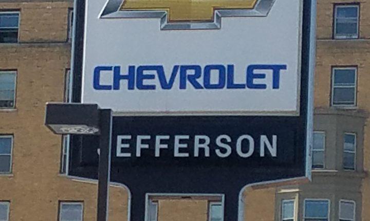 WELCOMING NEW SPONSOR JEFFERSON CHEVROLET